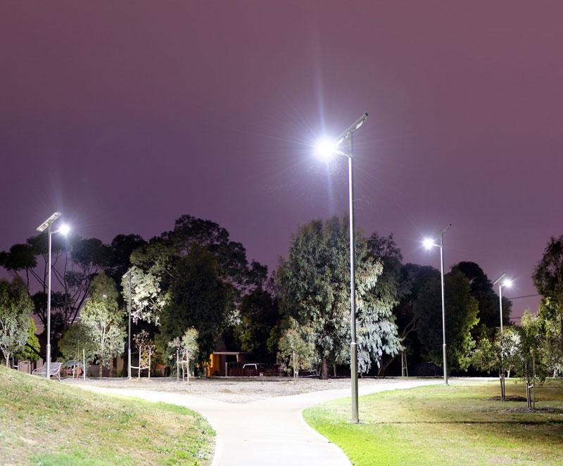solar public lighting