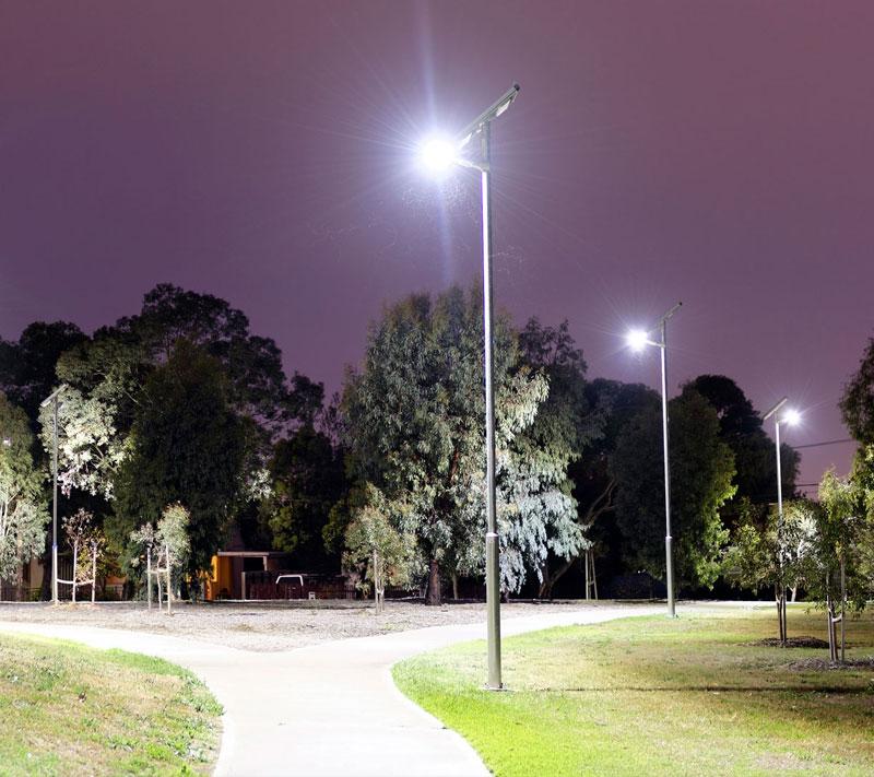powerful smart public lighting