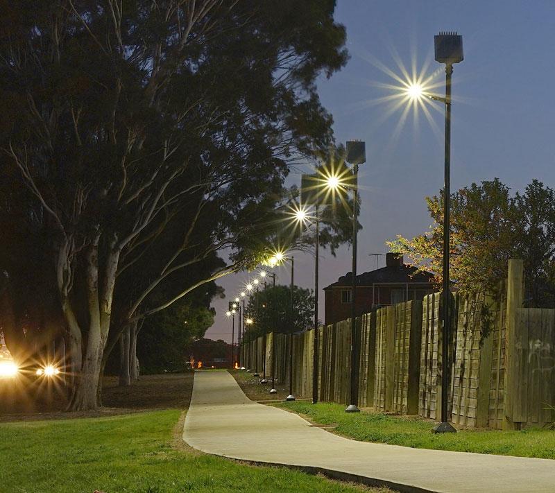 smart public lighting for pathway
