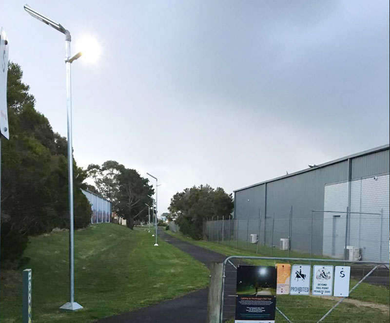 all in two solar street lights