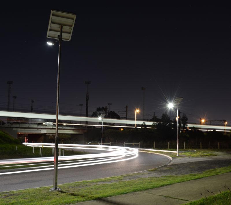 outdoor smart public lighting