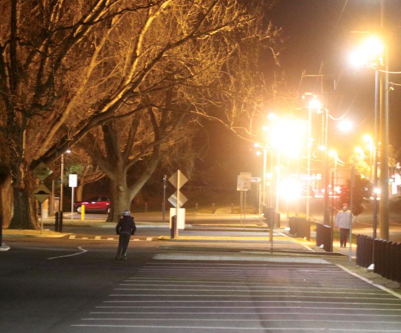 solar car park lighting solution