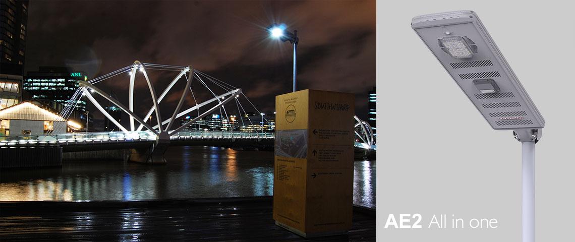 solar power light for port