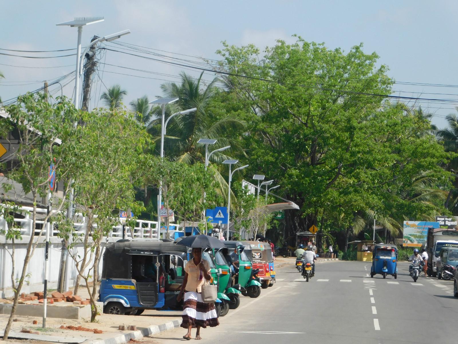 solar road lighting solution