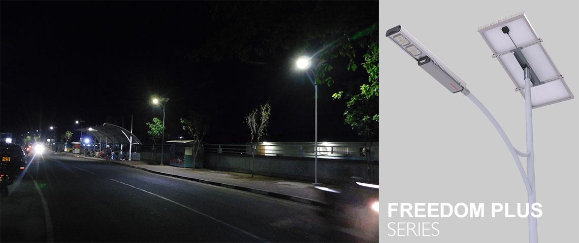 outdoor solar lighting street lighting