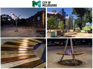 solar treet light for city of Melbourne