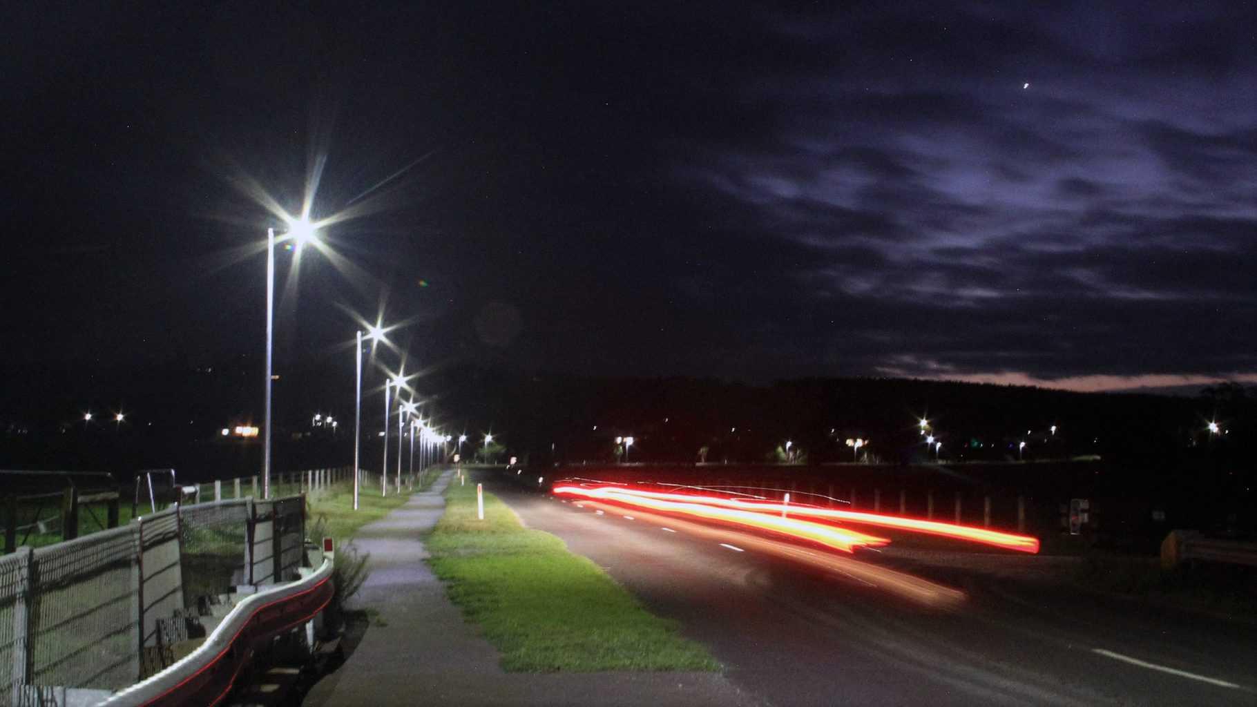 outdoor integrated solar street light